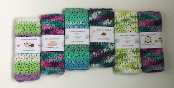 Treats & Coffee Dishcloth/Washcloth Wrapper - PDF FILE ONLY
