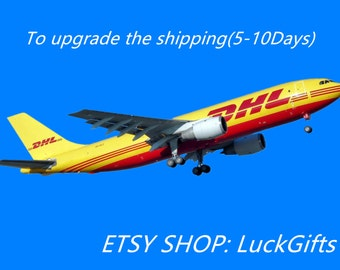 Only for Upgrade to the DHL ( 5~10business days ) shipping costs