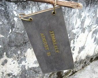 Wedding Guest Book Alternative Rustic Guest book Unique Wedding Guestbook Wedding Guest Book leather Wedding Guest book Engraved Guest Book