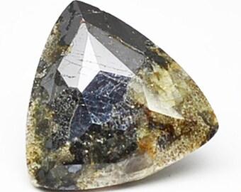 Potassic-Ferro-Chloro Sadanagaite 2.83cts Trillion Cut 9.40 x 9.4mm t111 Loose Gem Faceted Gemstone Jewelry Making Semi Precious Triangle