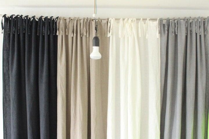 vorhang bettw sche vorh nge leinen vorhang panel vorh nge. Black Bedroom Furniture Sets. Home Design Ideas