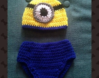 Minion Diaper Set