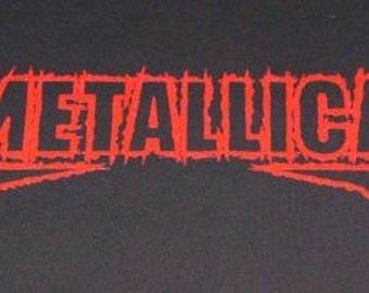 METALLICA back patch