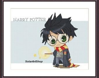 Harry Potter cross stitch pattern Harry Potter
