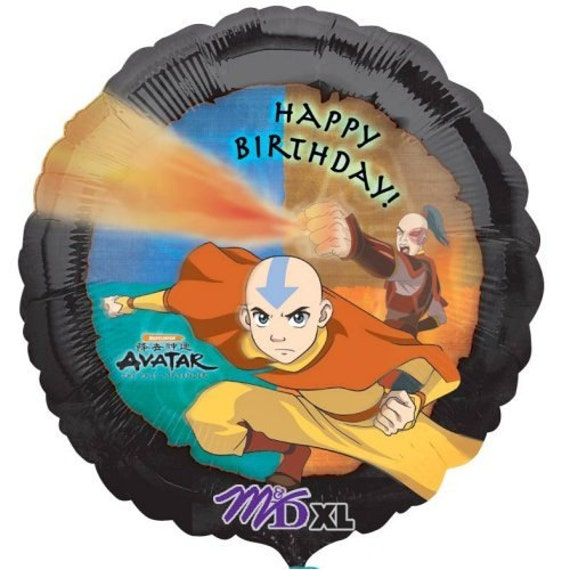 FAST SHIP TWO Avatar Birthday Balloons, Avatar Party