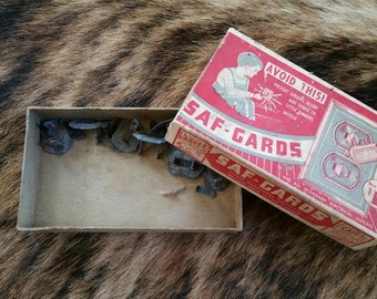 vintage 1960's SAF-Gards for sockets