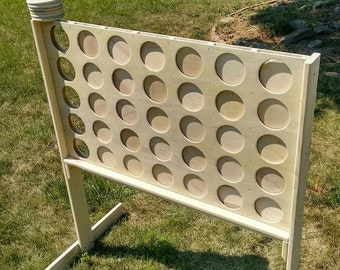 Giant Connect Four Plain Unfinished DIY