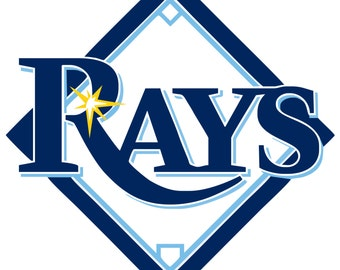 Tampa Bay Rays Decal/Sticker