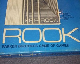 1970's Parkers Brothers Rooks Card game
