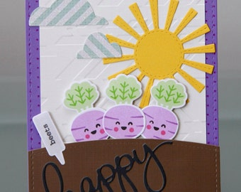 Beet Birthday Card