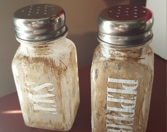 Vintage Made Salt and Pepper Shakers