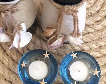 Starfish candle holders
