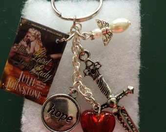 When a Laird Loves a Lady Book Cover Key Chain