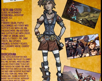 Borderlands 2 Wanted Posters - Gaige
