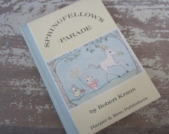 Sringfellow's Parade Vintage Children's Book