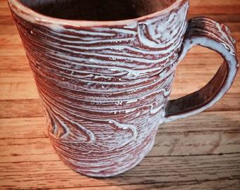 Wood Grain Mug