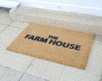 The Farm House doormat - 60x40cm