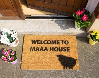 Welcome to Maaa House doormat - 60x40cm - Novelty - Gift