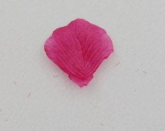 Fuchsia rose petals (100stuks)