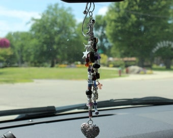 Rearview Charms w/Placard Hanger