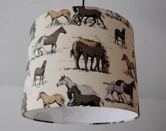 "Ceiling lamp ""Horses"""