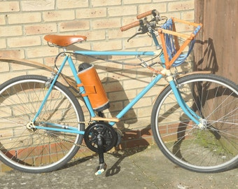 Vintage up-cycled 1950's electric bicycle 250w