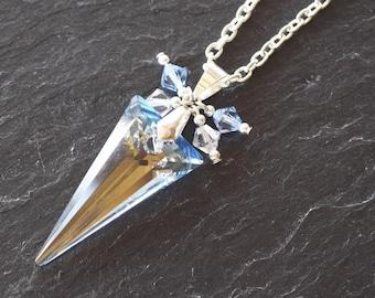 DIY Swarovski Crystal Spike Pendant Jewellery Kit