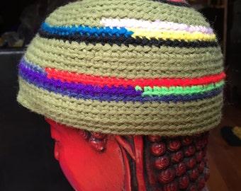 Tough Toddler Hip Crochet Cap