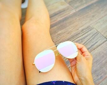Split Sunglasses Pink!!!