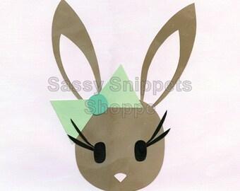 Bunny Love Cardstock Print