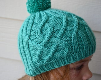Knitted Hat - Child Size S/M