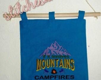 """9""""x13"""" Hanging Garden/Camping Flag"""