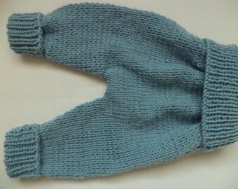 Schlupfhose 50/56 merino wool pants baby wool baby pants