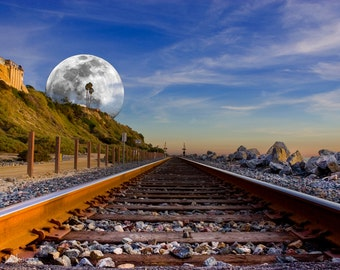 Rails to The Moon