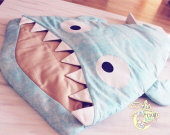 Shark sleeping bag for baby
