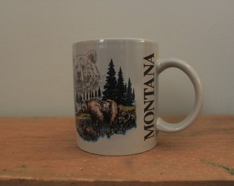 Montana Grizzly Bear Mug