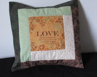 Fruit of the Spirit throw pillow cases  (Fruit de l'Esprit taie de coussins)