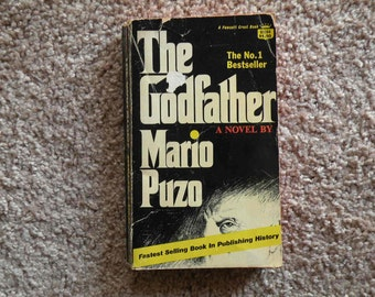 The Godfather by Mario Puzzo [1969 - paperback]
