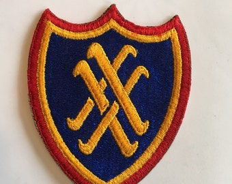 Vintage WWII Army Patch 20th Corps