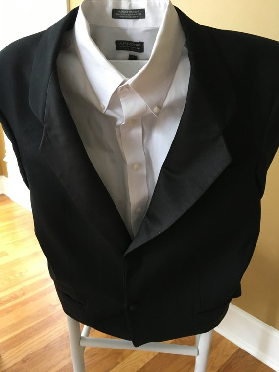 Groom Wedding Chair Cover Tuxedo Jacket By Occasionallybetsy