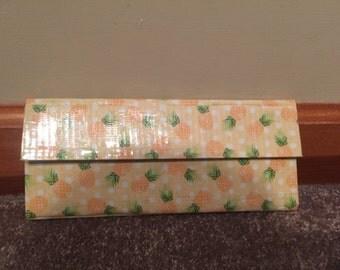 Pineapple Duct Tape Women's Wallet