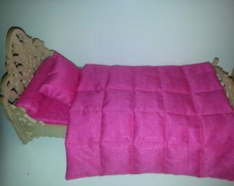 Doll Bedding set 4 pcs
