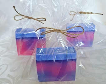 Hand made soaps GLITTERBERRY