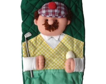 Mr. Golf Bag Holder