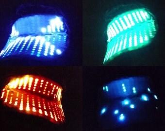 Animated LED Hat / Visor