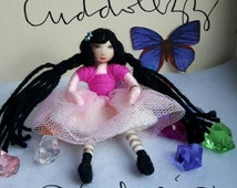 Sale Now On Handmade Doll Craft Art Doll Collectable doll Stocking Stuffer Pipe-Cleaner Craft Doll