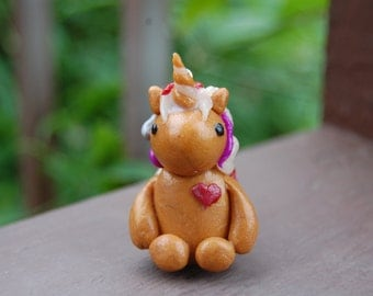 Colorful Clay Unicorn