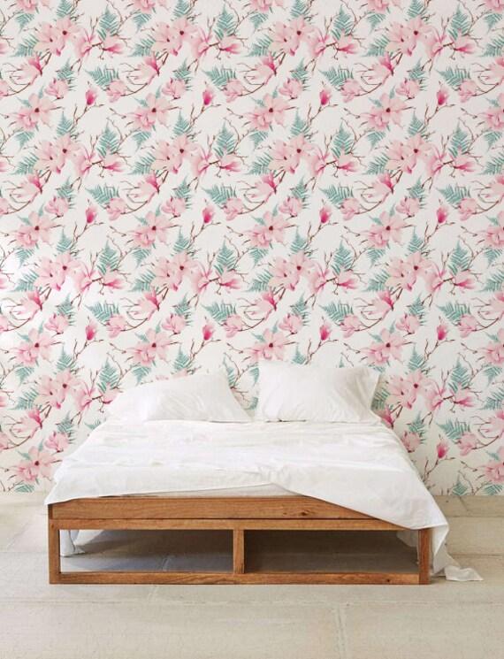 magnolia fond d cran fond d cran amovible papier peint. Black Bedroom Furniture Sets. Home Design Ideas
