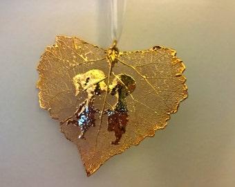 Gold Embossed Leaf
