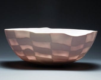 Handmade Elegant Translucent Porcelain Vessel
